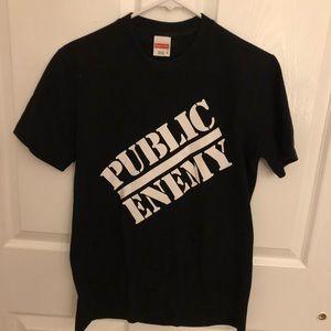 Supreme undercover public enemy t-shirt